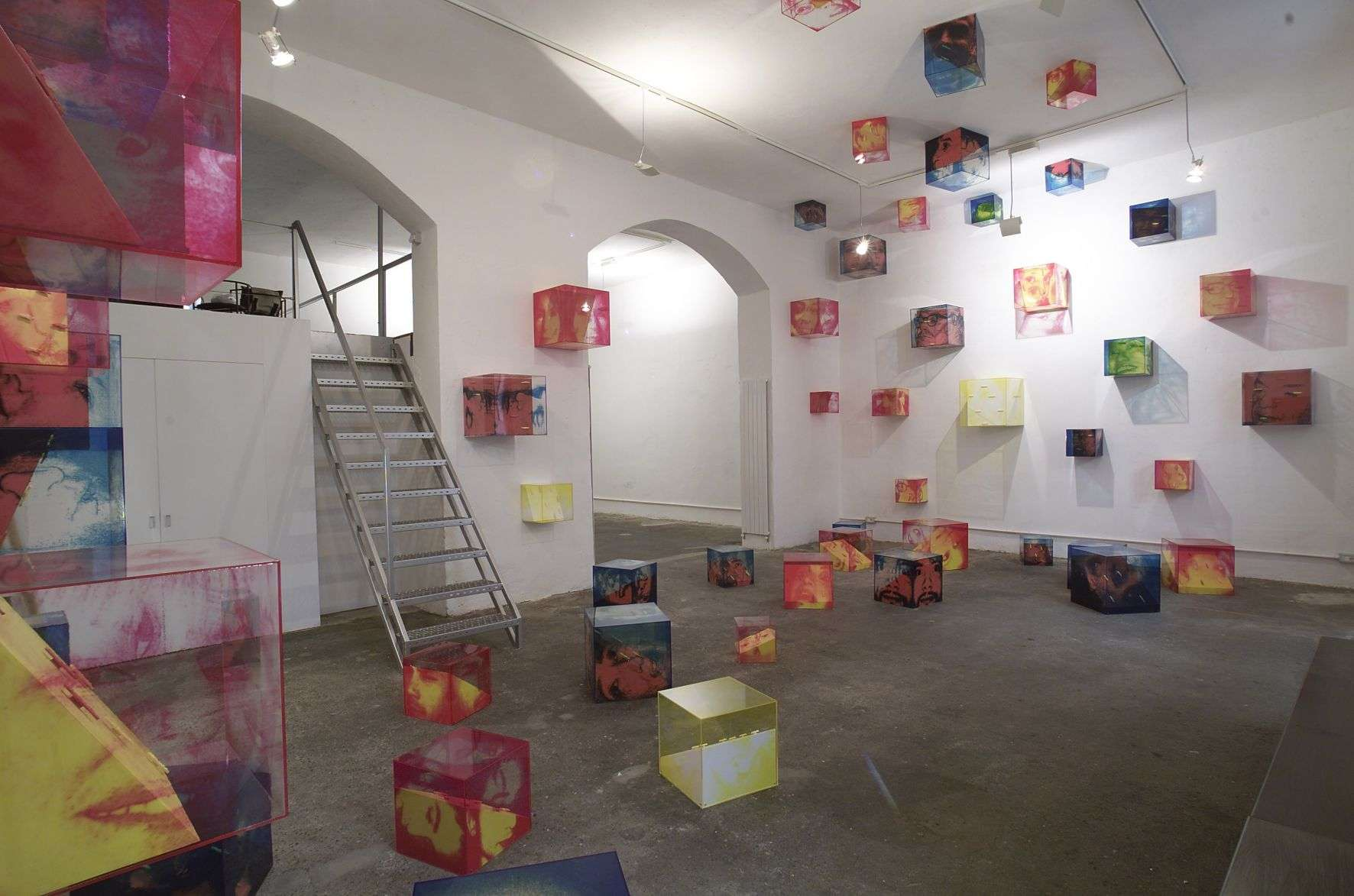 Incontri, installation shot Galica 2004